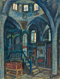 ha'ari synagogue, safed by arieh allweil