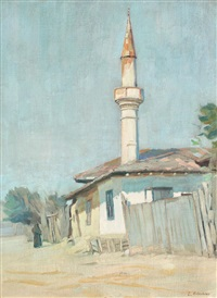 uliță dobrogeană by constantin artachino