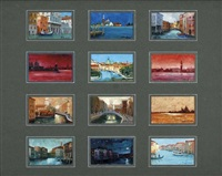 veduta di venezia (+ 11 others; 12 works) by roberto d' ambrosio