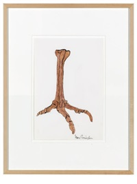 untitled (clawed foot) by merce cunningham