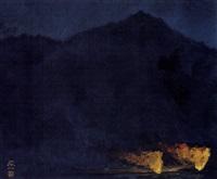fire for fishing by kato toichi