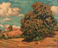 paysage de campagne by louis charlot
