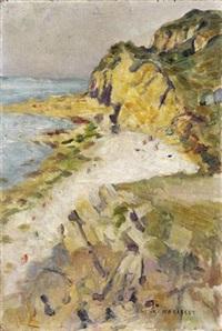 les falaises by francois henri morisset