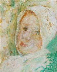 cabeza de niña by alberto trabucco