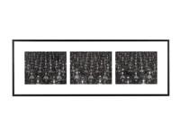 sea of buddha (031, 032, 033), triptych by hiroshi sugimoto