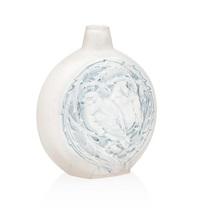 deux moineaux dormant frosted glass vase by rené lalique