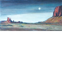 monument valley by albert lorey groll