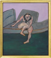 seated woman by francis bacon