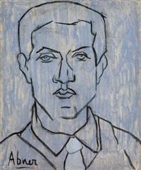 autoportrait bleu by abner