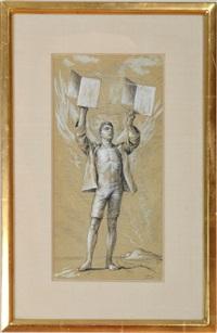 aviator (kite runner, fire island) by paul cadmus