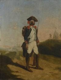 portrait d'homme by nicolas toussaint charlet