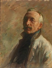 the artist's self-portrait by julius paulsen