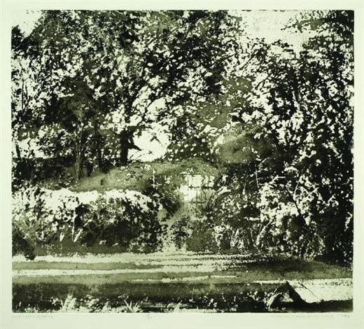 midsummer morning charleston by norman ackroyd