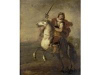 a soldier on horseback by frans francken the younger