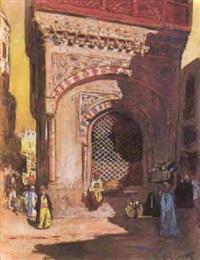 scène du caire by louis françois cabanes