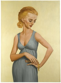 miss fenwick by john currin