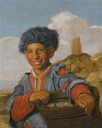 the laughing fisher boy by frans hals the elder