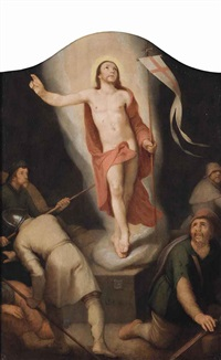 the resurrection by cornelis cornelisz van haarlem