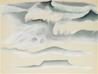 waves by georgia o'keeffe