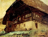 chalet by wilhelm g. hasemann