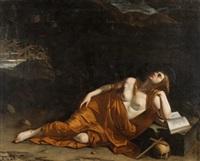 magdalena penitente by orazio gentileschi