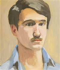 david kermani and jimmy (2 works) by fairfield porter