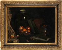 still life of fruit by henry fletcher