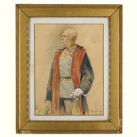 portrait of emperor franz joseph i of austria by joszi arpad koppay