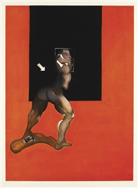 study from human body (sabatier 8) by francis bacon