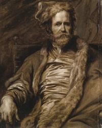 portrait of martin ryckaert by sir anthony van dyck