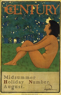 the century/midsummer holiday number by maxfield parrish