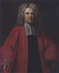 portrait of thomas aldersey of aldersey in barristers robes by james fellowes