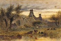 newton, near brecon by joseph murray ince