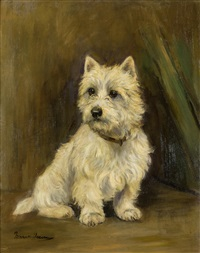 west highland terrier by marion rodger hamilton harvey