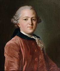 portrait de gentilhomme by louis tocqué