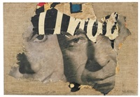 i due visi by mimmo rotella
