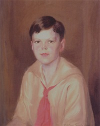 portrait of a boy by david anthony tauszky
