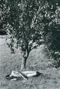 nu sous l'arbre by edouard boubat