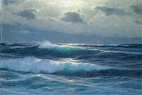 meerlandschaft by carl kenzler