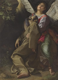 the stigmatization of saint francis by orazio gentileschi