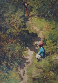 taking a rest by pierre billet