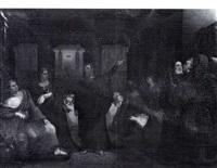 belshazzar's feast by washington allston