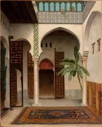 intérieur de palais by pierre outin