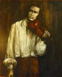 violoniste by pierre lafille