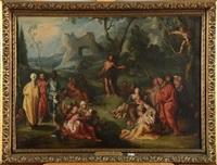 prêche de saint jean-baptiste by simon de vos