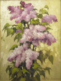 lilac flowers by ionel iacobescu