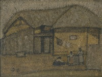 cottage near the well (우물가) by park soo-keun