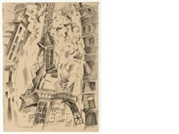 la tour eiffel by robert delaunay