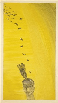 sans titre by francesco clemente