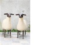mouton transhumant (2 works) by françois-xavier lalanne